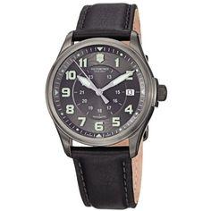 Victorinox Men's 241518 Infantry Analog Display Swiss Automatic Black Watch