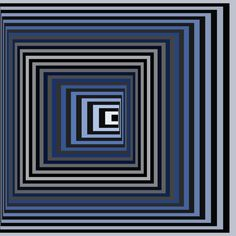 Victor Vasarely, Vonal-Ksz., 1968 by ~LazurURH on deviantART