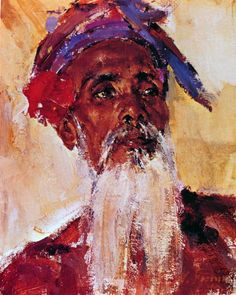 (after old man from the island of Bali by Nicolai Fechin. Russian American, Russian Art, Portraits, Portrait Art, Portrait Paintings, Oil Paintings, Painting People, Figure Painting, Santa Monica