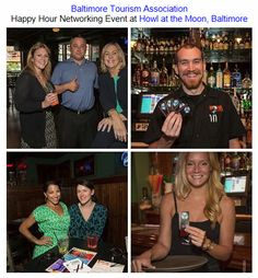 Baltimore Tourism Association Happy Hour Networking Event at Howl at the Moon, Baltimore