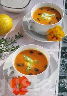 Joghurtos sütőtökkrémleves Thai Red Curry, Ethnic Recipes, Food, Essen, Meals, Yemek, Eten