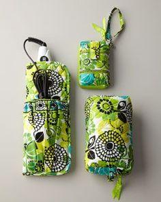 -3T8L Vera Bradley Limes Up Travel Accessories  pursesverabradley Lanyard  Wallet e77b88f55668e