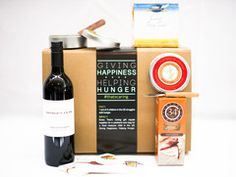 Mother's Day Best Seller - Cheese, Crackers, Chocolate and Wine gift box that gives back!