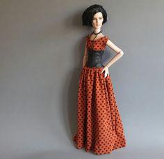 ilovethatdoll dress & corset for Tonner Chic / Antoinette / Ellowyne | eBay