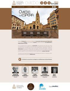 Propuesta de página web para la convención internacional de pilates 2014 (realizada para INDEXA)
