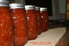 The Fresh Plate: Homemade Canned Salsa
