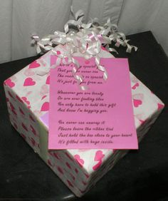 Hugs Box Gift Craft