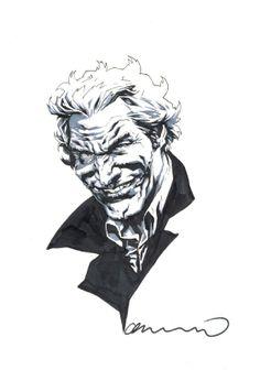 Lee Bermejo: Joker LSCC2013 Comic Art
