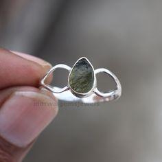 Handmade Rings, Handmade Bracelets, Earrings Handmade, Raw Gemstone Ring, Gemstone Necklace, Raw Gemstones, Stone Rings, Personalized Jewelry, Silver Earrings