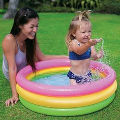 Baby Swimming Pool  Inflatable Intex Kids Outdoor Garden  Fun  #BabySwimmingPool