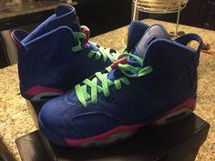 promo code 9c528 29ef2 (ebay link) Jordan 6 GS  Size 5.5 Youth  Game Royal  Pink  fashion   clothing  shoes  accessories  kidsclothingshoesaccs  unisexshoes