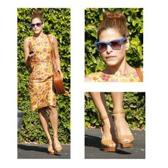 Eva Mendes has some of the best style. Always chic and appropriate!