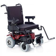 La silla de ruedas eléctrica bariátrica Sepang. Soporta hasta 205 kgs.
