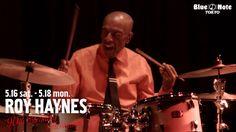 """ROY HAYNES """"90th Birthday Celebration"""" @BLUE NOTE TOKYO (2015 5.16 sat.)"""