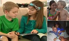 Sister, 9, pens book about brother, 5, to find cure for his disease