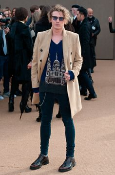 481dbfb624 Jamie Campbell Bower in Taylor Morris Jamie Campbell Bower
