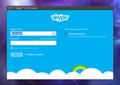 Skype 4.1 for Linux has been released. Unfortunately, there's no official changelog, but one new feature is obvious: an option to sign in with a Microsoft account and chat with your Windows Live Messenger friends from Skype.
