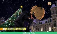 navidad,navidad,pobre de Chat Noir,el entristecido esta,porque la navidad sin su mama no es igual