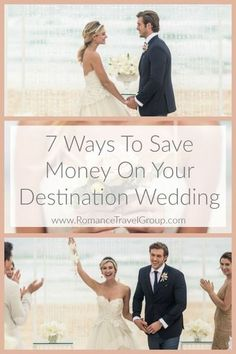 The rumors are true! Having a destination wedding costs less and is easier to plan then a traditional wedding at home. So how do we do it? Here are 7 ways to keep the budget in check without sacrificing any of the fun, frills and experience of your destin