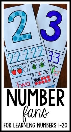 A fun activity for students to practice writing numbers, counting, and working with ten frames! Perfect for kindergarten and first grade!
