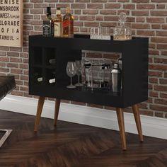 Bar Sala, Café Bar, Liquor Cabinet, Picture Frames, Living Room, Interior Design, Storage, Table, Furniture