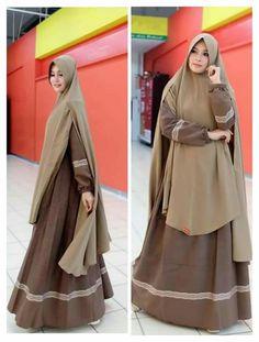Jilbab Niqab Fashion, Modern Hijab Fashion, Muslim Fashion, Modest Fashion, Fashion Dresses, Hijab Style Dress, Casual Hijab Outfit, Hijab Chic, African Print Dress Designs