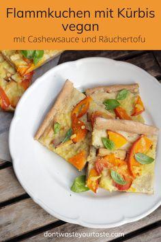 Eine leckere Variante wie du Kürbis mal anders verarbeiten kannst. Diese Pizza hat einen besonders cremigen Belag durch die Cashewsauce (also Pizza ohne Tomatensauce!). Der Räuchertofu erfreut die herzhaften Zungen und die Tomaten machen das ganze schön saftig. Der Pizzateig ist ein einfaches Grundrezept mit einem hohen Anteil an Dinkelvollkornmehl das für zusätzliche Ballaststoffe in deiner Ernährung sorgt. #vegan #pizza #zuckerfrei #veganerezepte #kürbisrezepte #kürbissaison #herbstrezepte… I Companion, Vegan Tofu Scramble, Low Fiber Foods