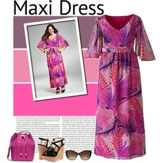 How To Wear plus size maxi Outfit Idea 2017 - Fashion Trends Ready To Wear For Plus Size, Curvy Women Over 20, 30, 40, 50
