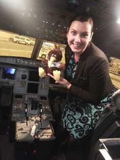 Air New Zealand Stewardess