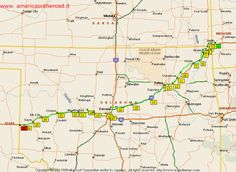 Oklahoma has about 400 miles of Route 66. That's more miles of original routing left than any other Route 66 state.