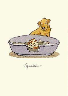 SQUATTER by Anita Jeram*