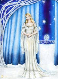 Galadriel, Lady of Lorien by MyWorld1.deviantart.com on @DeviantArt