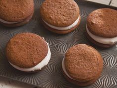 Grammy Carl's Rule For Molasses Cookies with Boiled Marshmallow Frosting