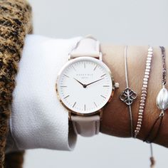Fashion-forward watches inspired by Amsterdam and NYC.rosef… Fashion-forward watches inspired by Amsterdam and NYC. Jewelry Watches, Jewelry Necklaces, Bracelets, Silver Jewelry, Jewellery, Bijoux Design, Best Jewelry Stores, Mode Inspiration, Cool Watches