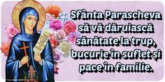 Felicitari de Sfanta Parascheva: 14 Octombrie - Pagina 2 - mesajeurarifelicitari.com Projects To Try
