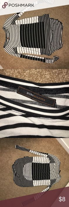 Bcbg max azria long sleeve shirt Good condition. Tag is falling off. Unsure of the size. I would assume a small BCBGMaxAzria Tops Tees - Long Sleeve