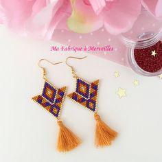 Bead Loom Patterns, Jewelry Patterns, Bracelet Patterns, Beading Patterns, Brick Stitch Earrings, Seed Bead Earrings, Beaded Earrings, Bead Jewellery, Beaded Jewelry