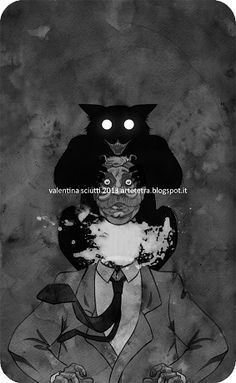 The Master and Margarita, O Mestre e a Margarita, Mikhaíl Bulgákov Valentina… Bulgakov Master And Margarita, The Master And Margarita, Book And Magazine, Magazine Covers, Various Artists, Book Illustration, Cat Love, Dark Art, Creepy