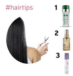 How to get rid of dry hair locks.  www.hairwaybeauty.com