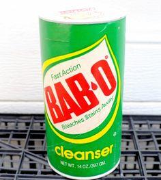 Clorox Soft Scrub Liquid Cleanser  1978 bottle  Around
