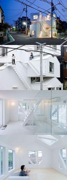 Tokyo Apartment Sou Fujimoto It Super Playful Love The Idea #architecture, https://facebook.com/apps/application.php?id=106186096099420, #bestofpinterest: