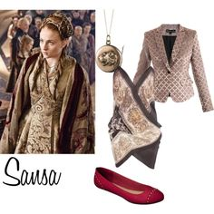 """Sansa Stark"" by alexis-cece on Polyvore"