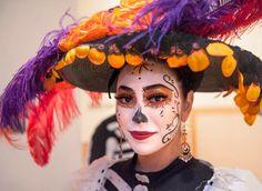 Image result for la catrina dia de los muertos costume