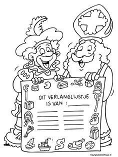 Heb jij je verlanglijstje al klaar? Sinterklaas houdt namelijk niet van treuzelaars! Vul hem dus maar snel in en wie weet krijg je iets naar jouw zin!