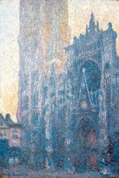 La Cathedrale de Rouen by Claude Monet (France)