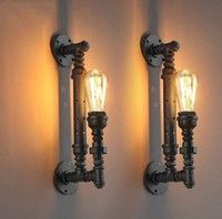 Package: 1pcs x Pipe Lamp Please note bulb is not included. Item Type: Wall Lamps Shade Type: Shade