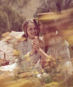 """: """" Lost in Time. Phoebe Tonkin and Teresa Palmer photographed by Will Davidson for Vogue Australia March 2015. """""""