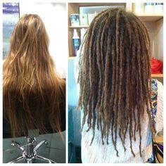 dreadlocks spot hair