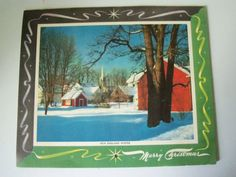 Vintage 1949 Advertising Calendar Farmers by IcicleGarden on Etsy