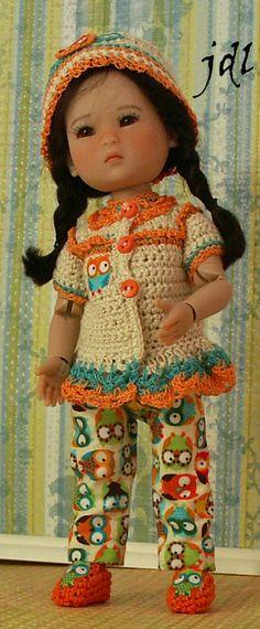"Ten Ping 8"" bjd Doll Clothes by jdldollclothes.com"